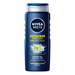 Gel de dus Power Fresh, 500 ml Nivea Men