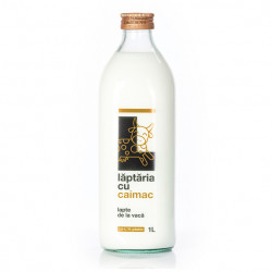 Lapte proaspat 3.8-4.1%, 1L Laptaria cu caimac