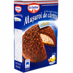 Mix Prajitura Musuroi de Cartita 350g Dr.Oetker