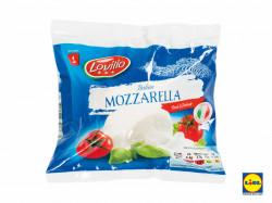 Mozzarella clasic 125g Lovilio