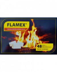 Pastile pentru aprins focul 48 buc Flamex