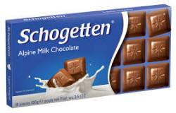 Ciocolata cu lapte 100g Schogetten