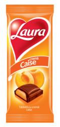 Ciocolata Laura - crema de caise 95g