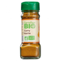 Curry 40g Carrefour Bio