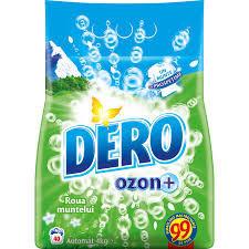 Detergent automat Dero Roua Muntelui + Ozon, 4kg, 40 spalari