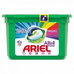 Detergent capsule Ariel All in One PODS Touch of Lenor - 13 spalari