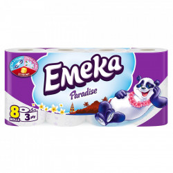 Hartie igienica 3 straturi Emeka Paradise