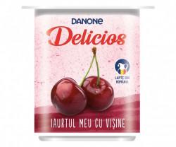 Iaurt cu visine 4x125g Danone Delicios