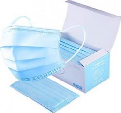 Masca de protectie SB50PM - 3 straturi - albastra