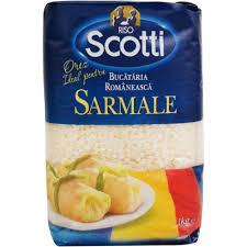 Orez romanesc pentru sarmale 1kg Scotti