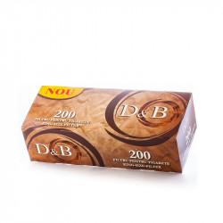 Tuburi tigari 200buc D&B