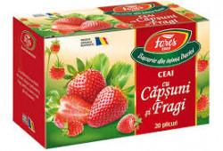 Ceai de capsuni si fragi 20 plicuri Fares