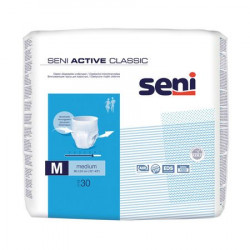 Scutece adulti Seni Active Classic Medium, 30 buc.
