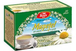 Ceai de musetel 20 plicuri Fares
