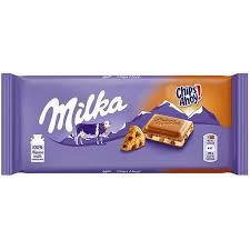 Ciocolata Milka ChipsAhoy cu biscuiti 100 g