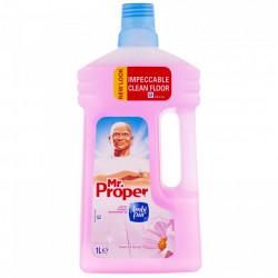 Detergent pardoseli Flower Spring, 1L Mr. Proper