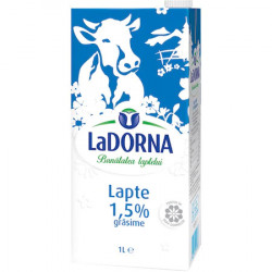 Lapte UHT 1.5% 1L LaDorna