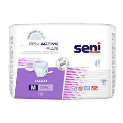 Scutece adulti Active Plus Medium, 10 buc. Seni