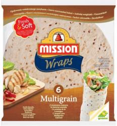 Lipie multicereale cu seminte 245g Mission Wraps