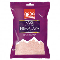 Sare roz de Himalaya fina iodata 500g CIO