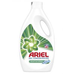 Detergent lichid Ariel Mountain Spring 2,2L, 40 spalari