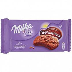 Fursecuri cu ciocolata Sensations Choco 156g Milka