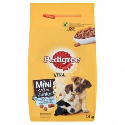 Hrana pentru caini, mini junior, pui 1.4kg Pedigree