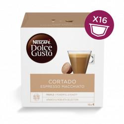 Nescafe Dolce Gusto Cortado, Espresso Macchiato - 16 capsule