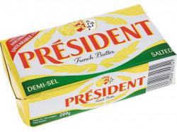 Unt 80% semi sarat 200g President