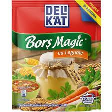 Bors Magic cu legume 165gr Delikat