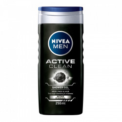 Gel de dus Active Clean, 250 ml Nivea Men