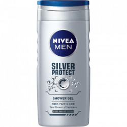 Gel de dus Silver Protect, 500 ml Nivea Men