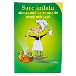 Sare Iodata alimentara de bucatarie gema marunta 1kg