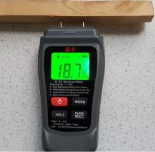 Aparat profesional (umidometru) pentru detectarea gradului de umiditate al lemnului, rigipsului si altor materiale inrudite, TESTER-2
