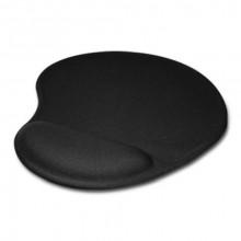 Mouse pad cu gel, ergonomic pentru incheietura, 23 x 19 cm, negru