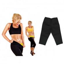 Pantaloni Fitness Slim Fit din Neopren pentru slabit si modelare, Marimea L, PM152463