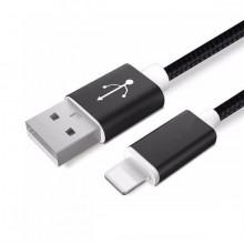Apple Ligtning - cablu date incarcator 1.5m Negru iPhone