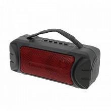 Boxa Portabila ZQS-T315 Rosu cu Incarcare Solara si Lanterna, Suport USB, TF, FM, Bluetooth