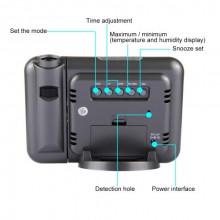 Ceas Digital Cu Proiector Si Statie Meteo DS-8190