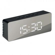 Ceas digital oglinda de birou cu alarma, temperatura CLED-002-NEGRU