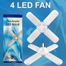 Lampa LED cu 4 brate mobile ajustabile tip ventilator 50w 6500k