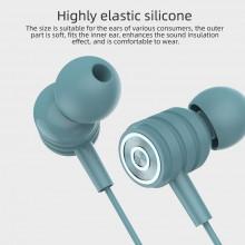 Casti Audio Y-01 IN-EAR, mufa Jack 3.5mm, sunet stereo, microfon