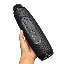 Microfon Karaoke fara fir , ZQS-K11 , boxa inclusa , slot card TF , AUX , negru