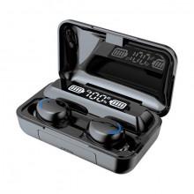 Casti fara fir, in-ear, stereo, Bluetooth 5.0, negru, TWS-12