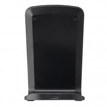 Incarcator Wireless Stand, Fast Charge, Suport de birou telefon , Negru