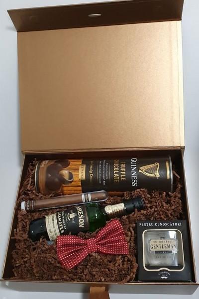 Brown Box Whiskey&Truffles