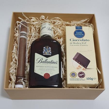 Mini Box - Ballantine's & Chocolate