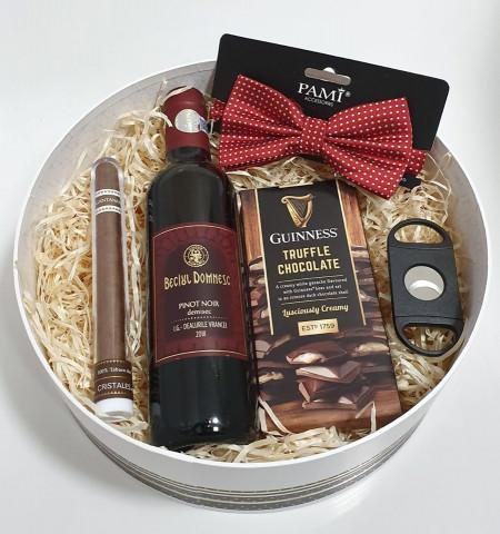 Round Box - Wine & Guinness Truffle