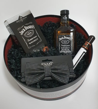 Round Jack Daniel's Box