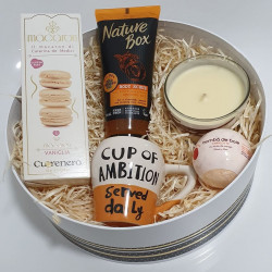 Round Box - Cup of Ambition & Body Scrub